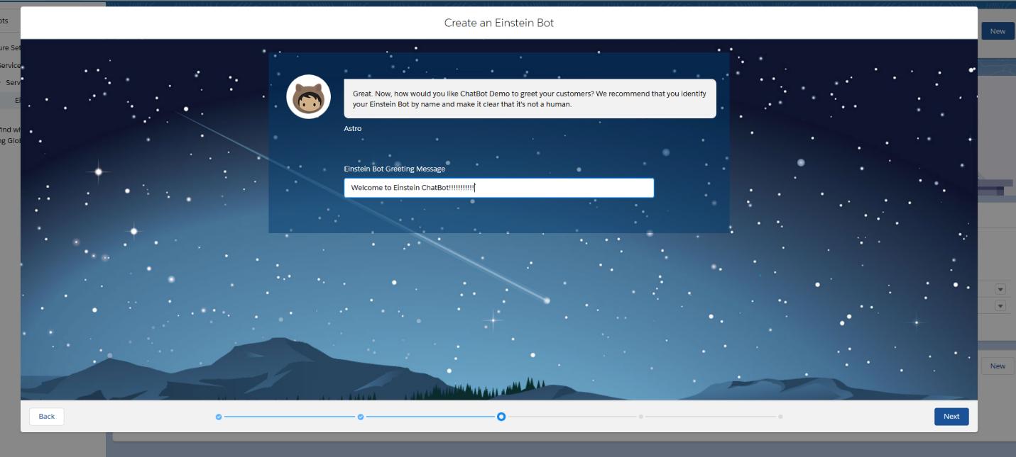 salesforce einstein chat bot