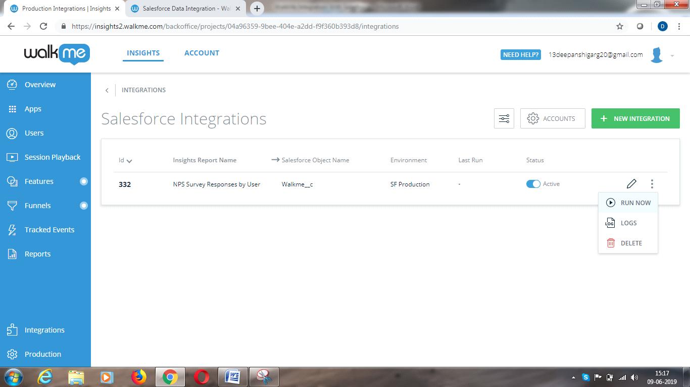 WalkMe Integration