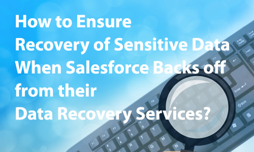 How to Ensure Recovery of Sensitive Data