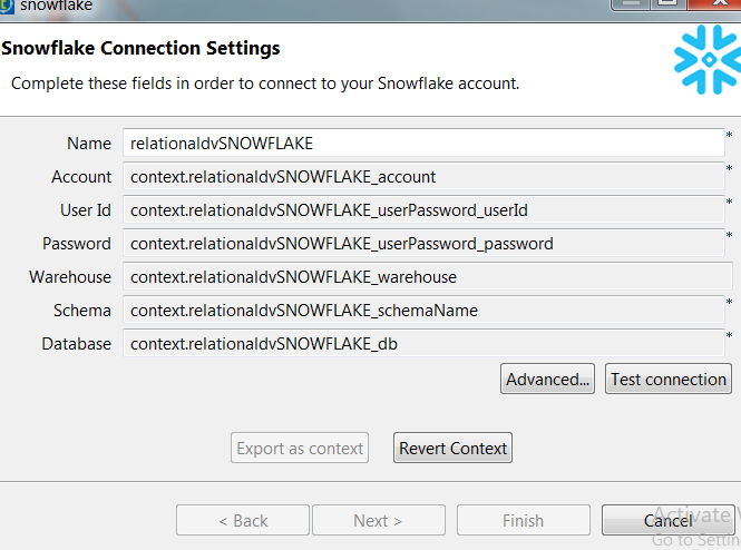 Snowflake Integration with Talend