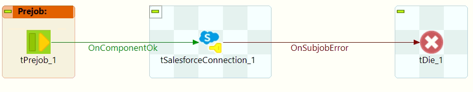 Create a Salesforce connection