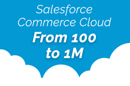 Salesforce Commerce Cloud: From 100 to 1M